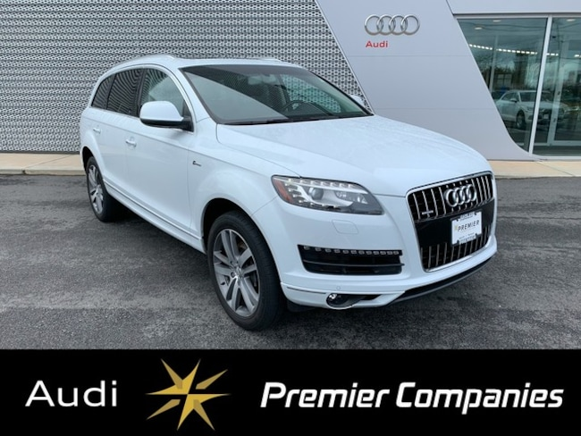 Certified 2015 Audi Q7 3.0T Premium Plus (Tiptronic) SUV for sale in Hyannis, MA at Audi Cape Cod