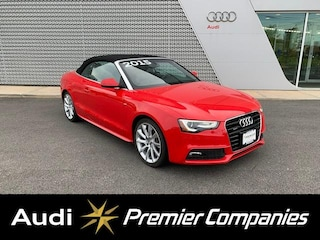 Used 2015 Audi A5 2.0T Premium Plus (Tiptronic) Cabriolet for sale in Hyannis, MA at Audi Cape Cod