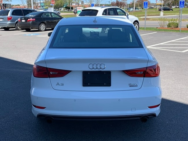 Used 2016 Audi A3 2 0T Premium Plus Sedan in Ibis white For