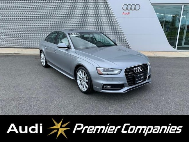 2015 Audi A4 2.0T Premium Plus (Tiptronic) Sedan