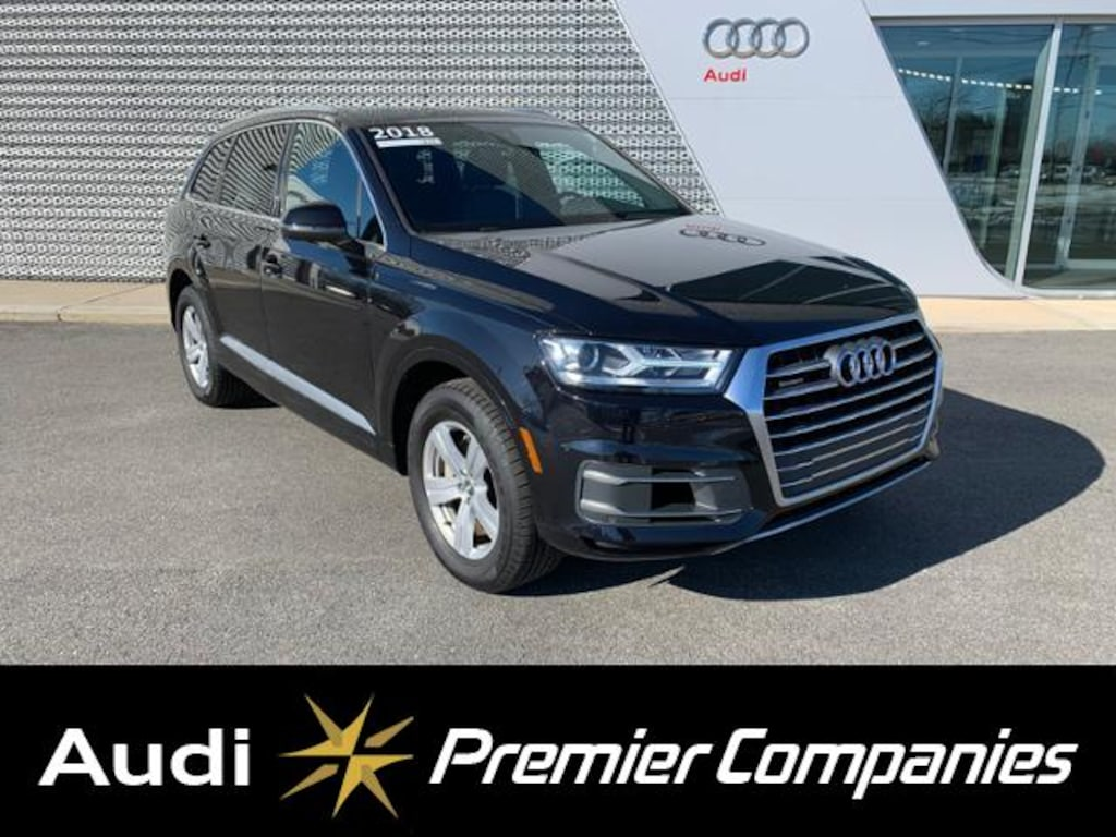Certified Used 2018 Audi Q7 2 0T Premium For Sale | Hyannis MA |  WA1AHAF72JD007771