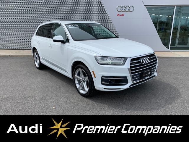 Used 2019 Audi Q7 3 0T Prestige SUV in Carrara white For