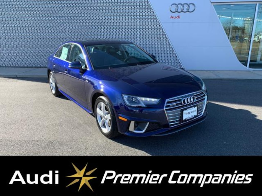 New 2019 Audi A4 Premium For Sale Hyannis Ma