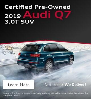 2019 Audi Q7 CPO