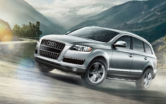 Research the 2014 Audi Q7 SUV in Cary NC