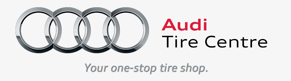 Audi Tire Centre - Your one-stop tire shop.
