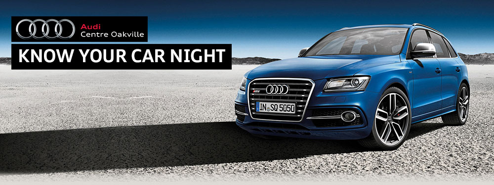 Audi Centre Oakville Know Your Car Night