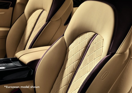 Experience Audi - Leather Detail
