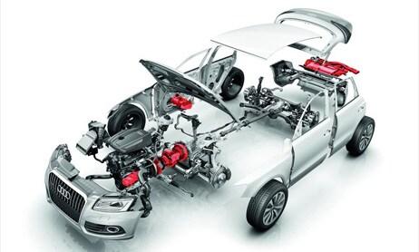 Experience Audi - Audi Hybrid System
