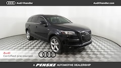 Certified Pre-Owned 2015 Audi Q7 3.0T S line Prestige (Tiptronic) SUV in Chandler, AZ