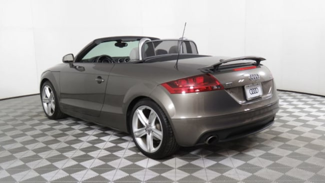 Used Audi TT For Sale In Chandler AZ Near Phoenix Mesa - Audi tt convertible