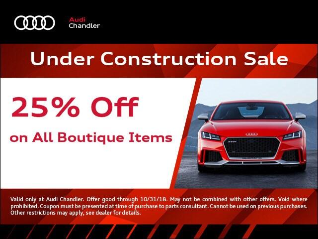 Audi Part Specials In Chandler AZ - Audi chandler
