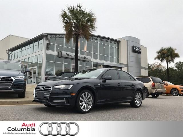 New 2018 Audi A4 2.0T Tech ultra Premium Sedan Columbia, South Carolina