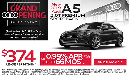New 2019 Audi A5