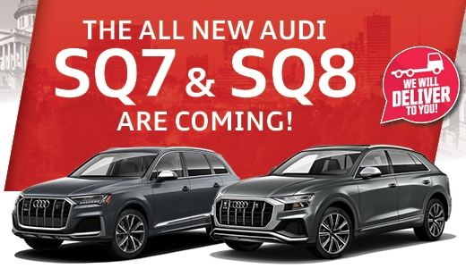 The All New Audi SQ7 & SQ8 Are Coming