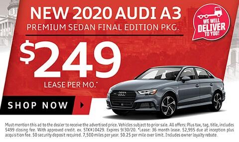 New 2020 Audi A3
