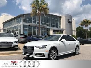 New 2018 Audi A4 2.0T Summer of Audi ultra Premium Sedan in Columbia SC