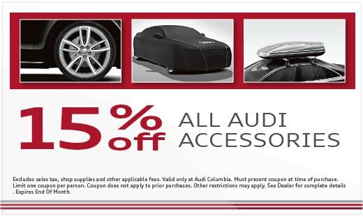 Audi Auto Parts Specials In Columbia, SC   Audi Columbia