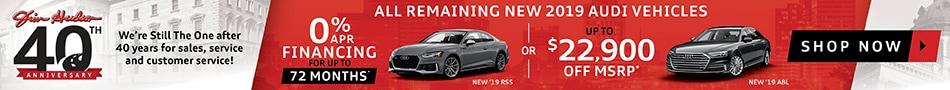2019 new Audi specials