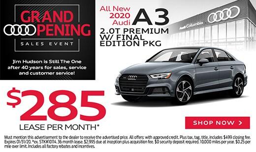All New 2020 Audi A3