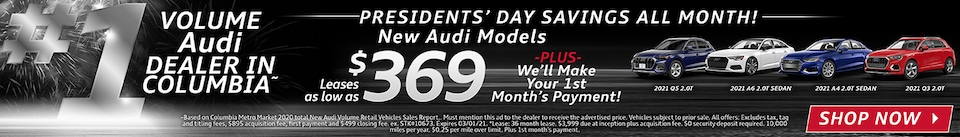 President's Day Savings all Month!