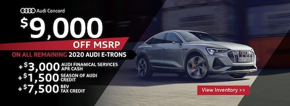 Audi Concord Audi Dealership In Concord Ca