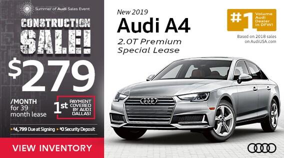Audi Dallas Lease Specials & Featured Incentives | Dallas
