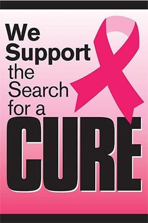 Wear PINK and save 15% during Breast Cancer Awareness Month