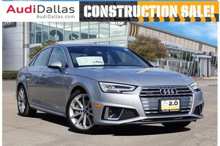 New 2019 Audi A4 2.0T Premium Plus Sedan For Sale Dallas TX