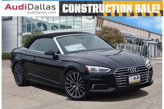 New 2019 Audi A5 2.0T Premium Plus Cabriolet For Sale Dallas TX