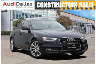 2016 Audi A4 2.0T Premium Plus Quattro w/ Navigation Sedan