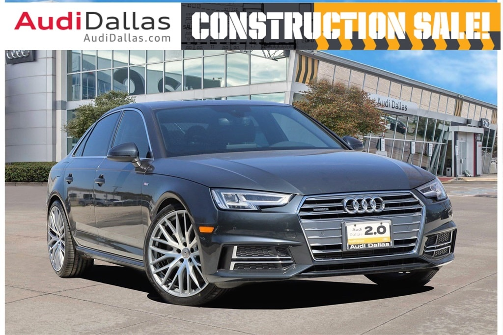 2017 Audi A4 2.0T Premium Plus Quattro w/ Navigation Sedan