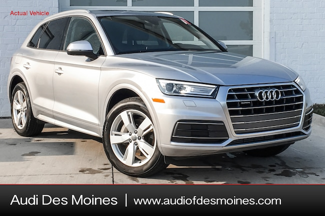 Certified Pre-Owned 2018 Audi Q5 2.0T Premium SUV Johnston, IA