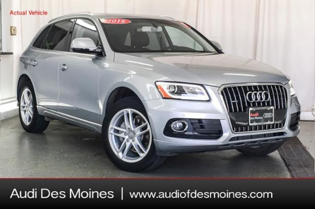 Used 2016 Audi Q5 2.0T Premium Plus SUV Johnston, IA