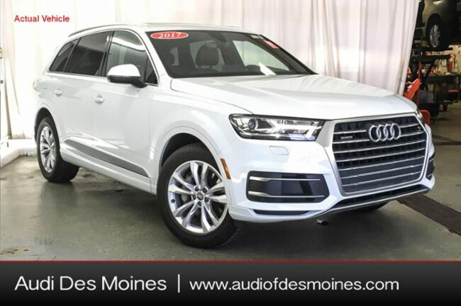 Certified Pre-Owned 2017 Audi Q7 2.0T Premium SUV Johnston, IA