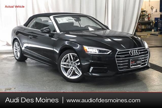 New Audi Lease & Finance Offers 2019 Audi A5 2.0T Premium Plus Cabriolet in Calabasas, CA