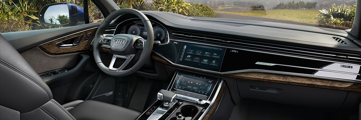 Audi Q7 Interior Vehicle Features