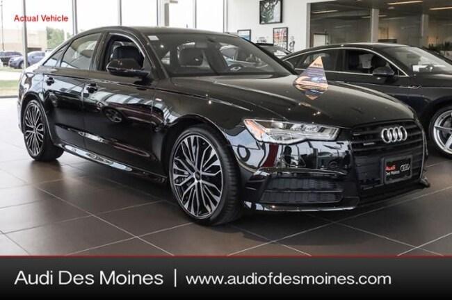 New 2018 Audi A6 2.0T Premium Plus Sedan Johnston, IA
