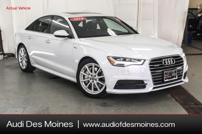 Used 2018 Audi A6 3.0T Premium Plus Sedan Johnston, IA