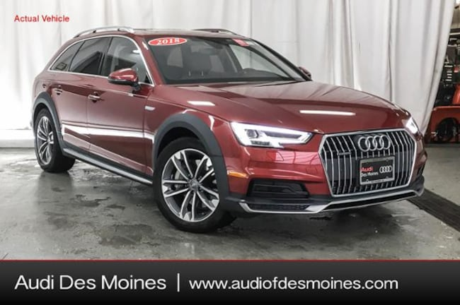 Certified Pre-Owned 2018 Audi A4 allroad 2.0T Premium Wagon Johnston, IA