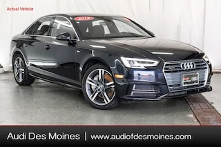 Certified Pre-Owned 2018 Audi A4 2.0T Premium Plus Sedan Johnston, IA