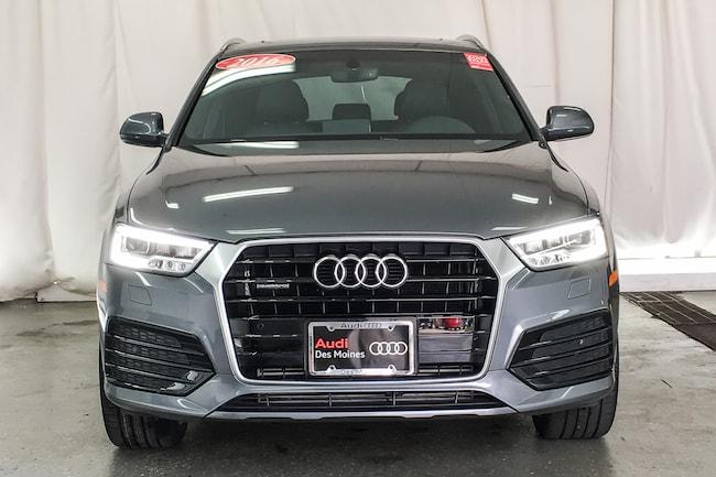Used Audi Q T Premium Plus SUV Monsoon Gray Metallic For - Audi des moines