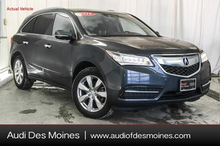 Used 2016 Acura MDX MDX SH-AWD with Advance and Entertainment Packages SUV Johnston, IA