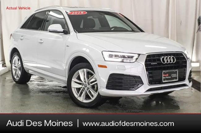 Certified Pre-Owned 2018 Audi Q3 2.0T Premium SUV Johnston, IA