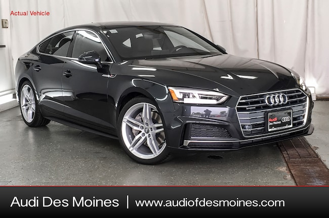 New 2018 Audi A5 2.0T Premium Plus Sportback Johnston, IA