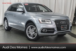 Certified Pre-Owned 2015 Audi Q5 3.0T SUV Johnston, IA