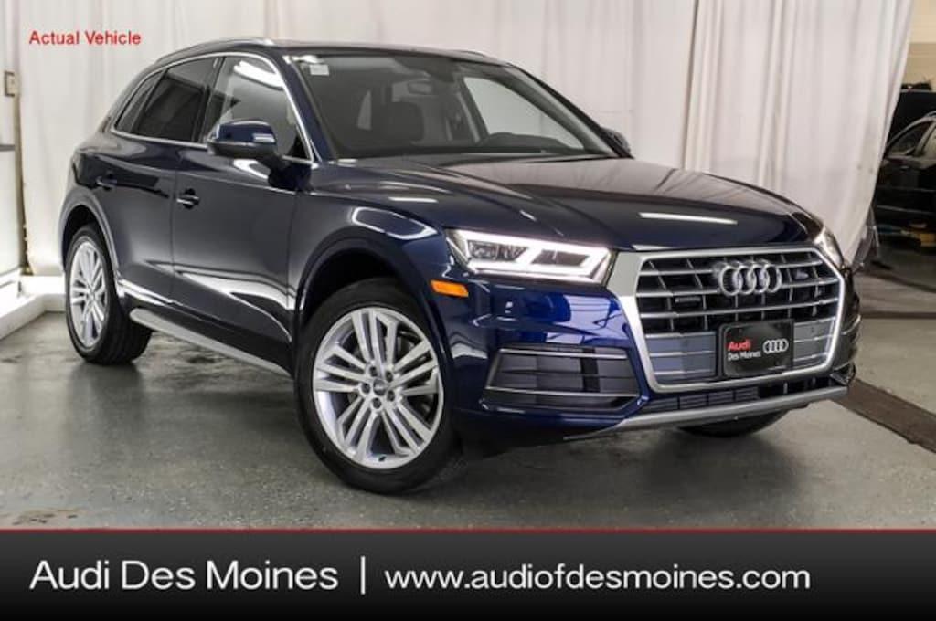 Audi Q5 Msrp >> New 2019 Audi Q5 Suv 2 0t Premium Plus Navarra Blue Metallic For