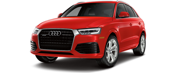 New Audi Q3 at Audi Des Moines