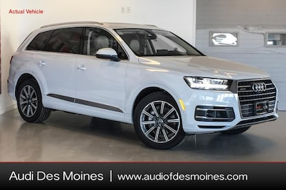 Audi Suv Q7 >> New 2019 Audi Q7 Suv 3 0t Premium Plus Glacier White