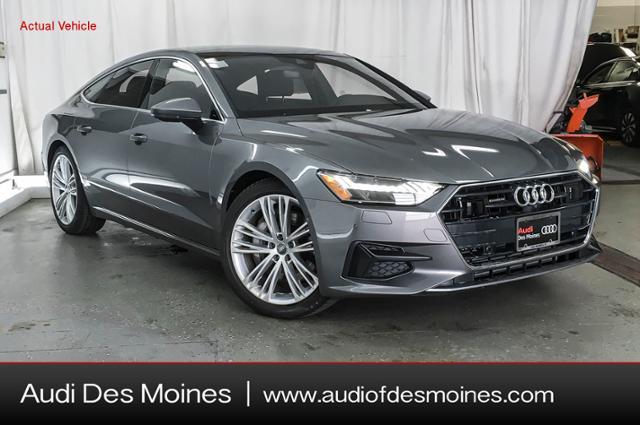 New 2019 Audi A7 3.0T Premium Plus Hatchback Des Moines